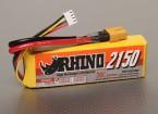 Rhino 2150mAh 3S1P 20C Lipoly pacote