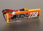 Rhino 2350mAh 3S1P 30C Lipoly pacote