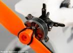 Micro 3D eixo simples Thrust Vectoring Motor Mount Kit Inc. 2204 Brushless Outrunner