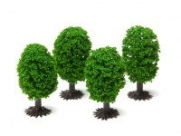 HobbyKing Model Railway Scale Trees 50mm (4 pcs)