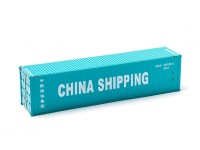 HO Scale 40ft Shipping Container CHINA SHIPPING