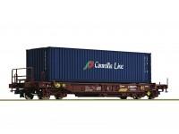 Roco/Fleischmann HO Double Bogie Standard Pocket Wagon RENFE (Camellia Line)
