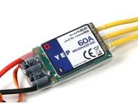 HobbyKing YEP 60A (2 6S ~) SBEC Brushless Speed Controller