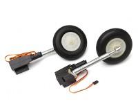 Turnigy Full Metal Servoless 90 graus torção n Vire retrai / da perna / rodas 1,20 tamanho (P-40)