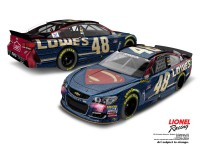 Lionel Racing Jimmie Johnson Lowes Superman 2016 Chevrolet SS 1:64 ARC Diecast Car