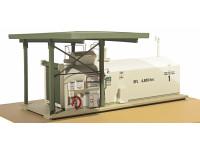 Southern Rail HO Scale Diesel Loco Refueling Depot