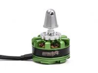 MultiStar DT2204-12P-2300KV Motor com suporte adaptador e Nut (CCW)