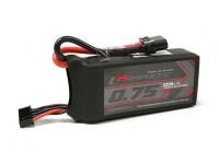 Turnigy Grafeno 750mAh 4S 65C Lipo Pack (Chumbo Short)
