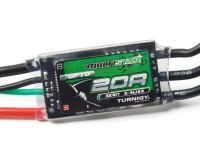 Turnigy MultiStar 32Bit 20A Corrida Spec ESC 2 ~ 4s (OPTO)