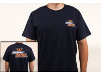 Passatempo Rei T-shirt azul marinho (X-Large)
