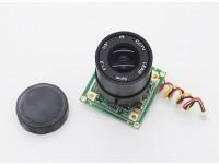 1/3 polegadas Sony CCD Video Camera 700 linhas F1.2 (PAL)