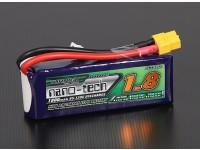 Turnigy nano-tecnologia 1800mAh 3S 65 ~ 130C Lipo pacote