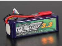 Turnigy nano-tecnologia 3300mAh 6S 65 ~ 130C Lipo pacote