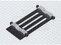 Fibra de Carbono Mount Battery Trex / HK 450 PRO