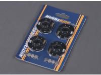 Luzes LED de roda para RC da tração do carro - azul (4pcs)