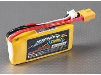 ZIPPY Compact 1300mAh 2S 25C Lipo pacote