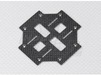 Turnigy Talon V2 de fibra de carbono principal plataforma inferior (1pc)