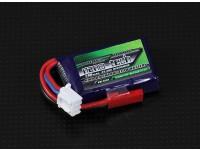 Turnigy nano-tecnologia 180mAh 2S 25 ~ 40C Lipo pacote