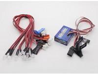 Sistema de iluminação Turnigy Smart Car LED