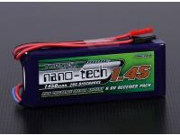 Turnigy nano-tecnologia 1450mAh 2S1P 20 ~ 40C LiFePo4 Receiver Pacote