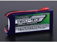 Turnigy nano-tecnologia 1600mAh 2S1P 20 ~ 40C LiFePo4 Receiver Pacote