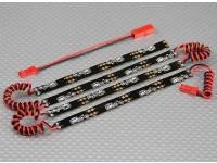 LED flexível sob Corpo Sistema de néon (vermelho)