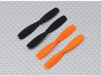 Hélices (2 standard, 2 rotação reversa) - QR Ladybird Micro Quad / Q-Bot