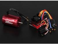 Turnigy TrackStar impermeável 1/10 Brushless Power System 4000KV / 80A