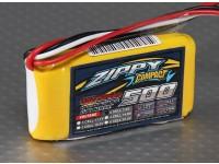 ZIPPY Compact 500mAh 2S 35C Lipo pacote