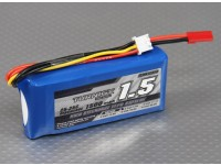 Bateria Turnigy 1500mAh 2S 25C Lipoly