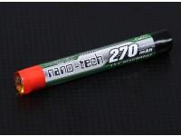 Turnigy nano-tecnologia 270mAh celular 1S 15C Rodada