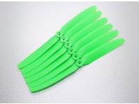 GWS EP Hélice (DD-8040 203x102mm) verde (6pcs / set)