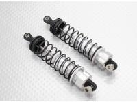 Alumínio Frente choque completo - 1/10 Quanum Vandal 4WD Corrida Buggy (2pcs)