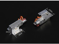 Turnigy Full Metal Servoless 90 graus Retracção Set (para modelos de até 3 kg)