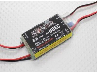 Dr. Mad série Thrust 5A HV BEC com Inbuilt Aux controlada On / Off Switch para ACCS