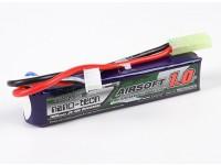 Turnigy nano-tecnologia 1000mAh 3S 20-40C Lipo AIRSOFT pacote