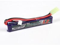 Turnigy nano-tecnologia 1200mAh 2S 25-50C Lipo AIRSOFT pacote