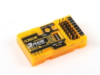 OrangeRX RX3S 3-Axis vôo Estabilizador V2 (firmware V2.1) (V-tail / Delta / AUX)