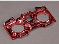 Turnigy 9XR Transmissor personalizado Faceplate - Red Metallic