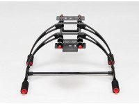 Deluxe multifunções Anti-Brake Care-de alta Crab FPV Landing Gear Set (Black)