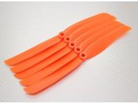 GWS Estilo Hélice 8x4 Orange (CCW) (5pcs)