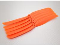 Hobbyking ™ Slowfly Hélice 9x5 Orange (CCW) (5pcs)