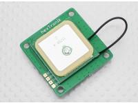 UBlox LEA-6H Módulo GPS w / Built-in antena V1.01 Precisão 2.5m