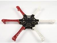H550 V3 Glass Fiber Hexcopter Quadro 550 milímetros - Integrated PCB Versão