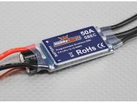 HobbyKing 50A BlueSeries Brushless Controlador de velocidade