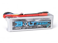Turnigy Parafuso 3450mAh 4S 15.2V 65 ~ 130C High Voltage Lipoly Pack (LiHV)