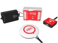 DJI Naza-M Lite Multi-Rotor controlador de vôo GPS Combo