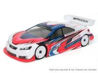 Bittydesign Nardò 190 milímetros 1/10 Touring Car Body Racing (ROAR aprovado)