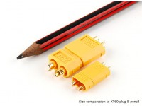 XT30 Conectores de alimentação para 30A Aplicações contínua (bateria secundários) (5pcs)