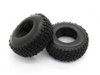 Tires - Basher PBull 1/18 4WD Desert Buggy (2pcs)